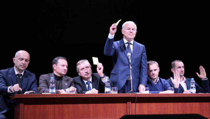 Конференція трудового колективу КПІ ім. Ігоря Сікорського 18.04.2019