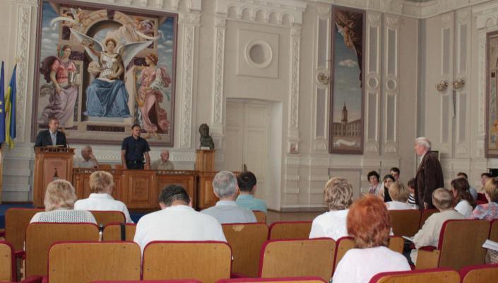 На розширеному засіданні Профкому працівників КПІ ім. Ігоря Сікорського 30.05.2019