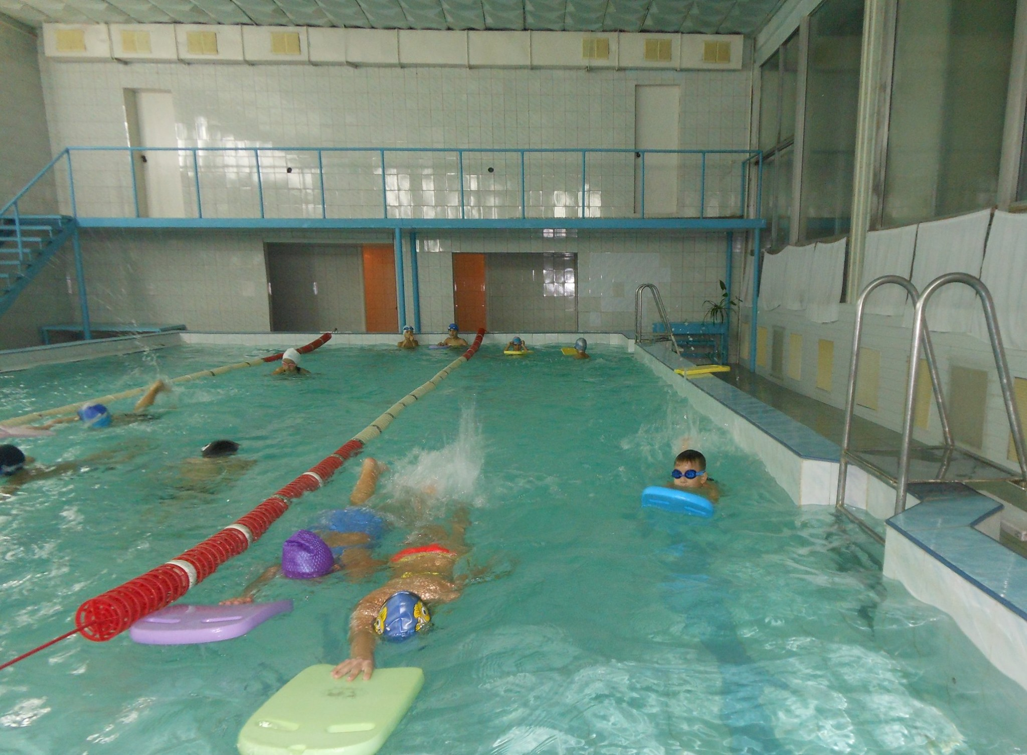 Навчальне плавання в басейні КПІ ім. Ігоря Сікорського