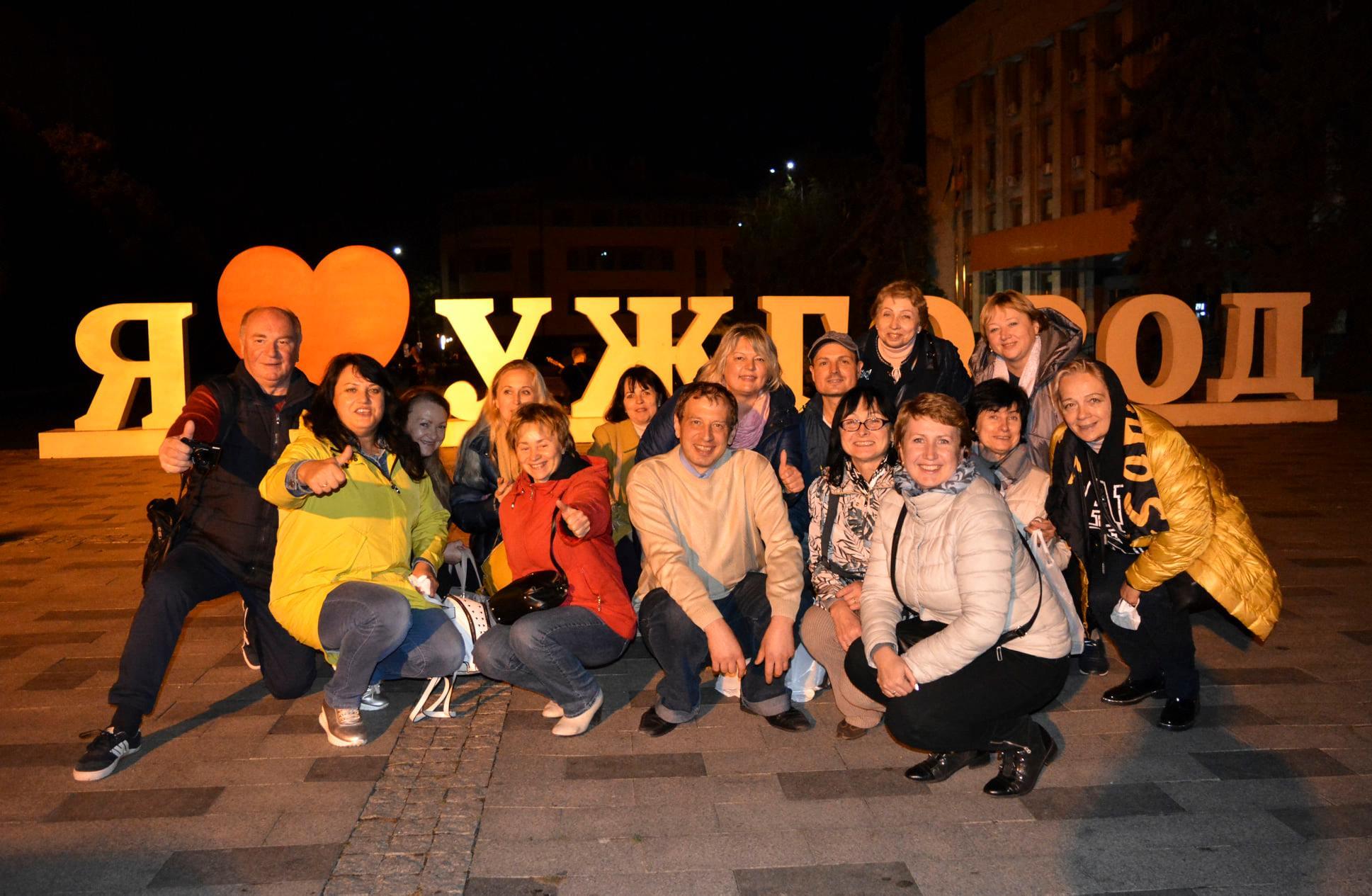 Екскурсійно-туристичну поїздка до Мукачево та Ужгороду
